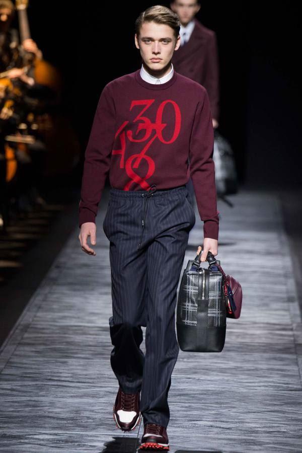 Мужские брюки осень-зима 2015-2016 Dior Homme