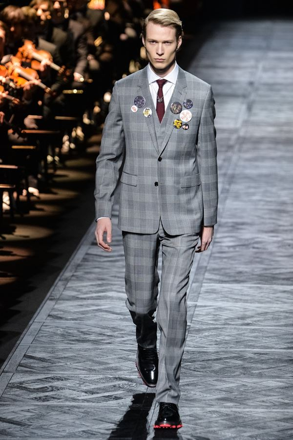 Мужские костюмы осень-зима 2015-2016 Dior Homme