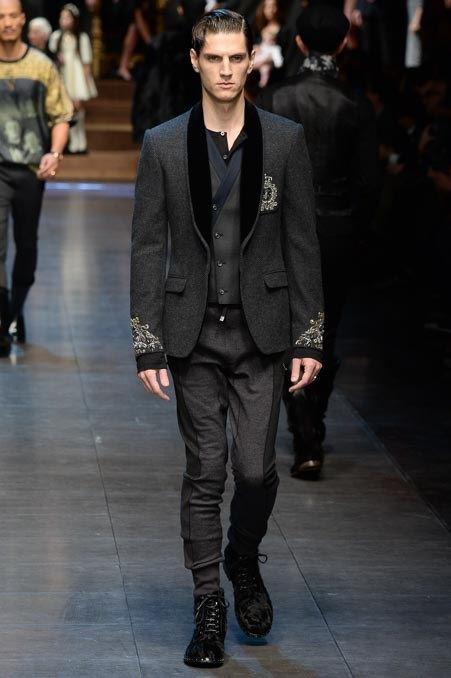 Мужские пиджаки осень-зима 2015-2016 Dolce & Gabbana