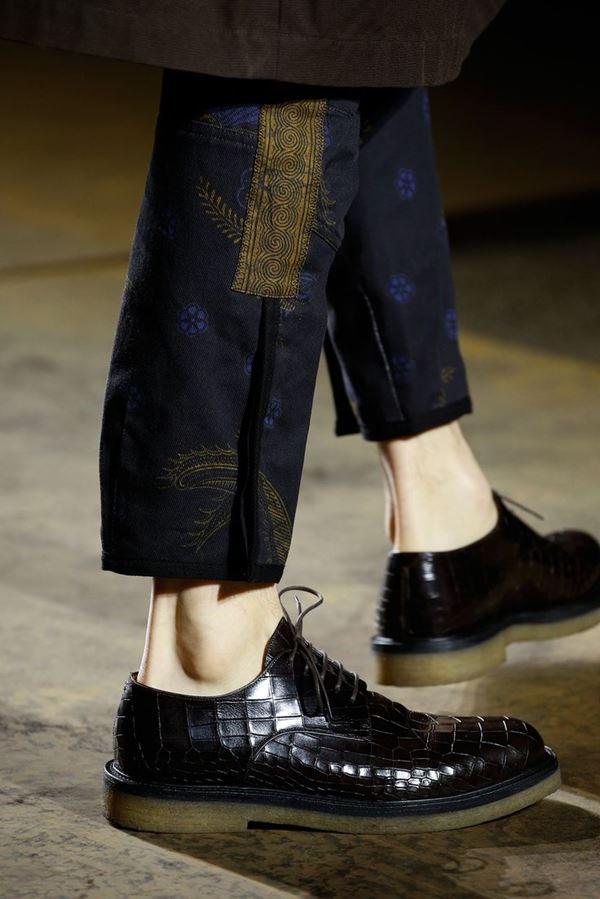 Мужская обувь осень-зима 2015-2016 Dries Van Noten