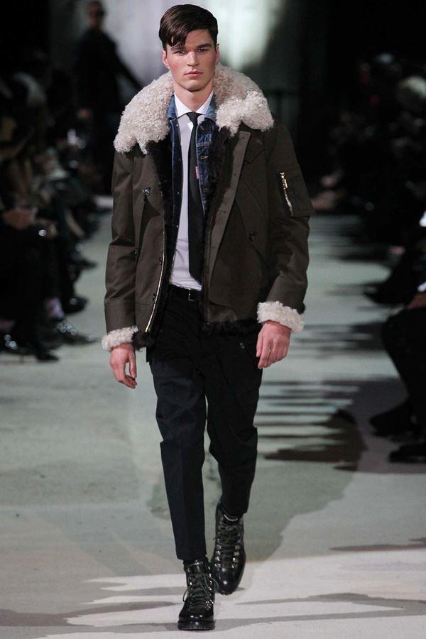 Мужские куртки осень-зима 2015-2016 Dsquared2