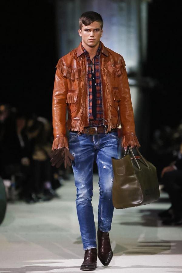 Мужские джинсы осень-зима 2015-2016 Dsquared2
