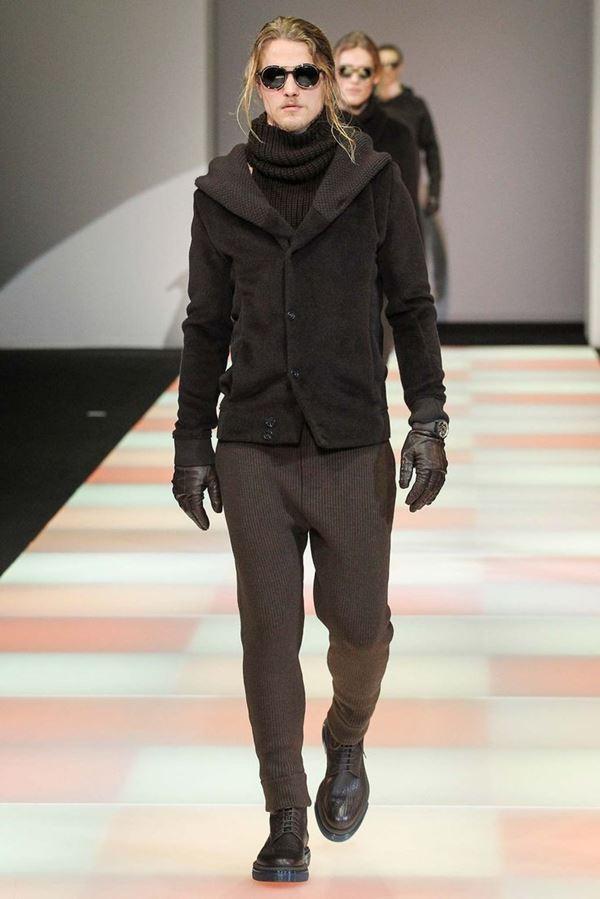 Мужские куртки осень-зима 2015-2016 Emporio Armani