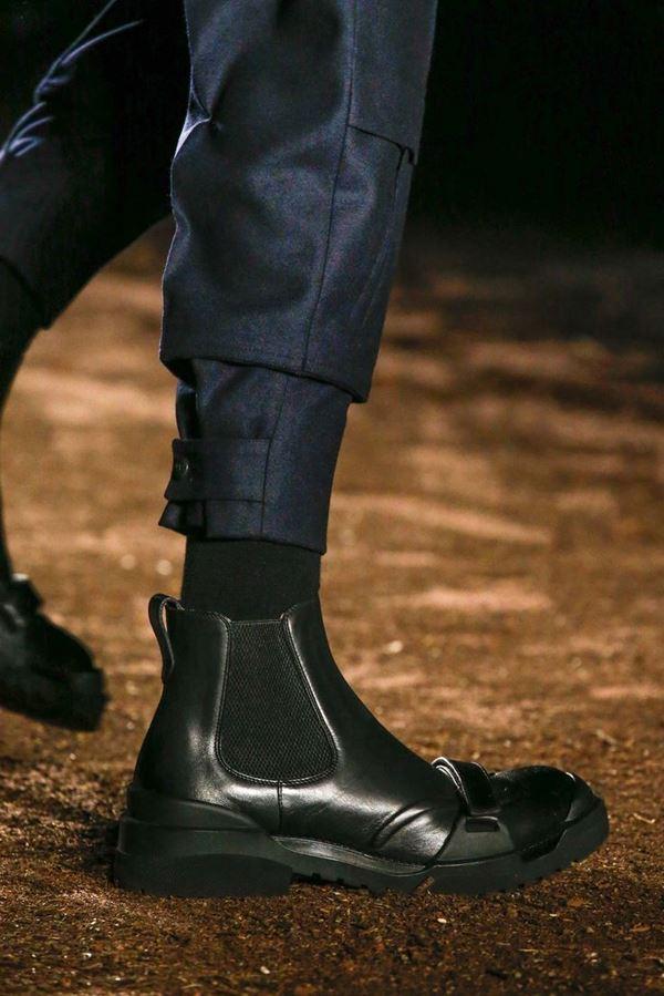 Мужская обувь осень-зима 2015-2016 Ermenegildo Zegna