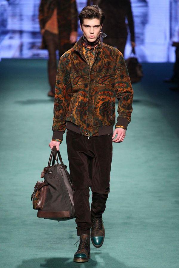 Мужские куртки осень-зима 2015-2016 Etro