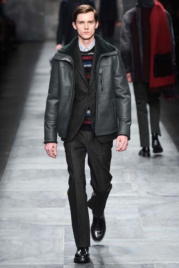 Мужские куртки осень-зима 2015-2016 Fendi
