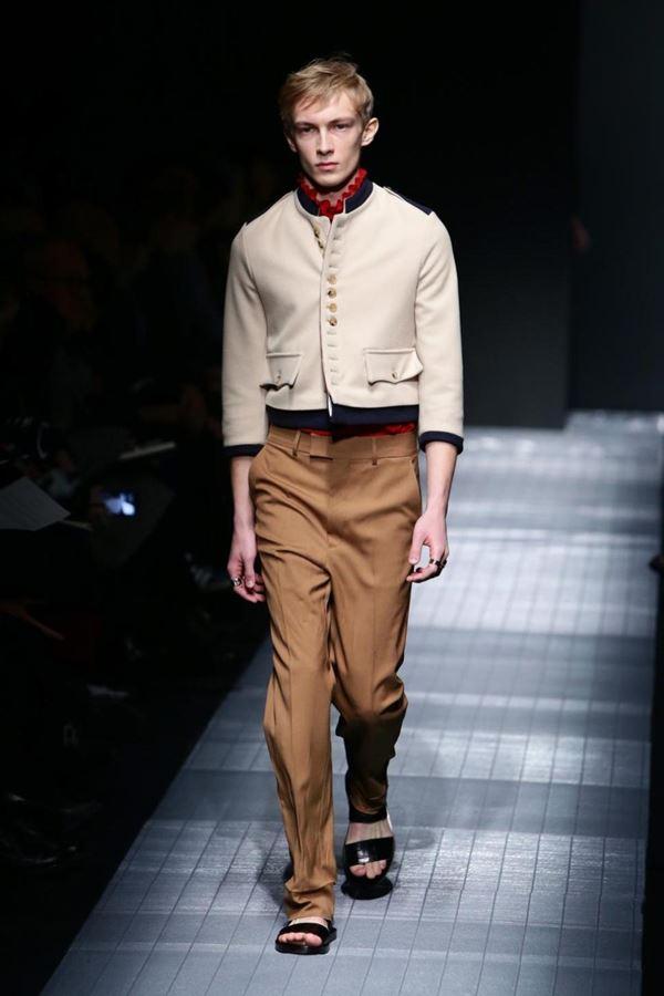Мужские брюки осень-зима 2015-2016 Gucci