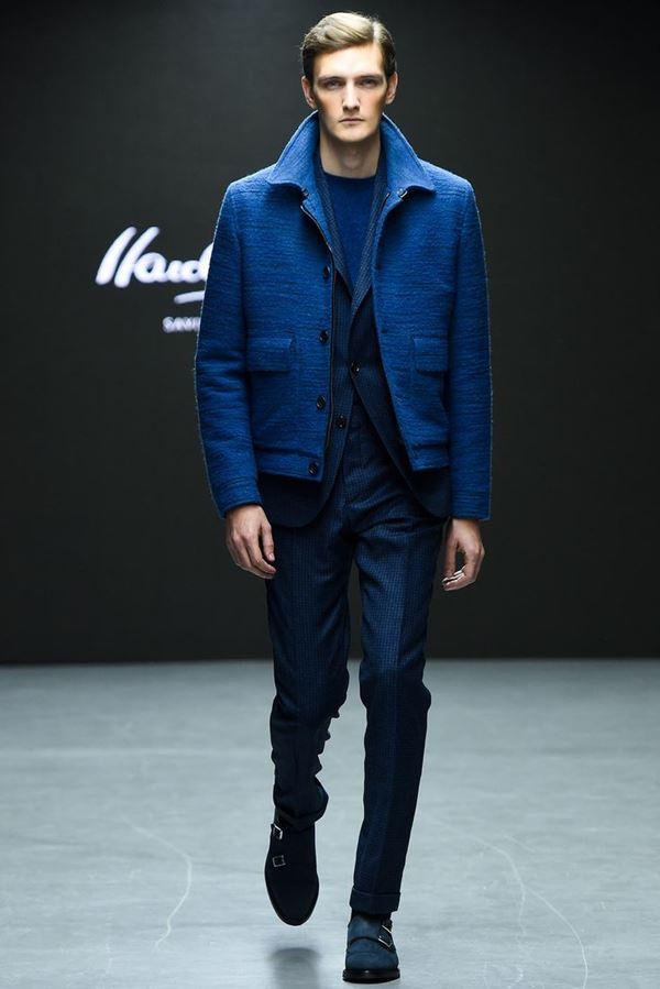Мужские куртки осень-зима 2015-2016 Hardy Amies