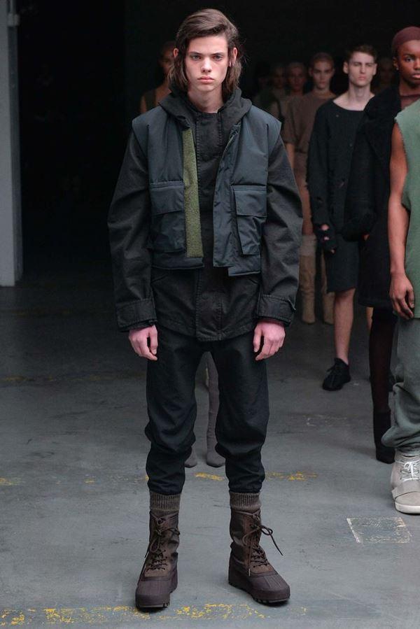 Мужские куртки осень-зима 2015-2016 Kanye West x Adidas Originals