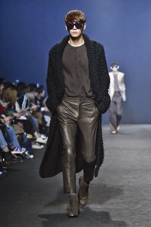 Мужские брюки осень-зима 2015-2016 Kimseoryong