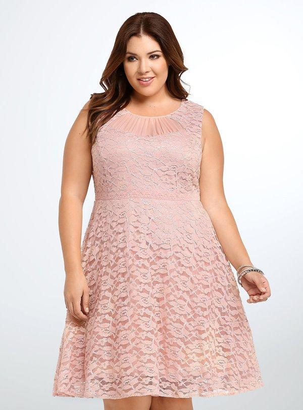Коктейльные платья для полных 2015-2016 (12)