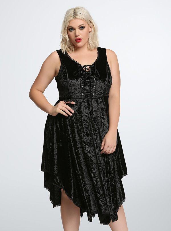 Коктейльные платья для полных 2015-2016 (13)