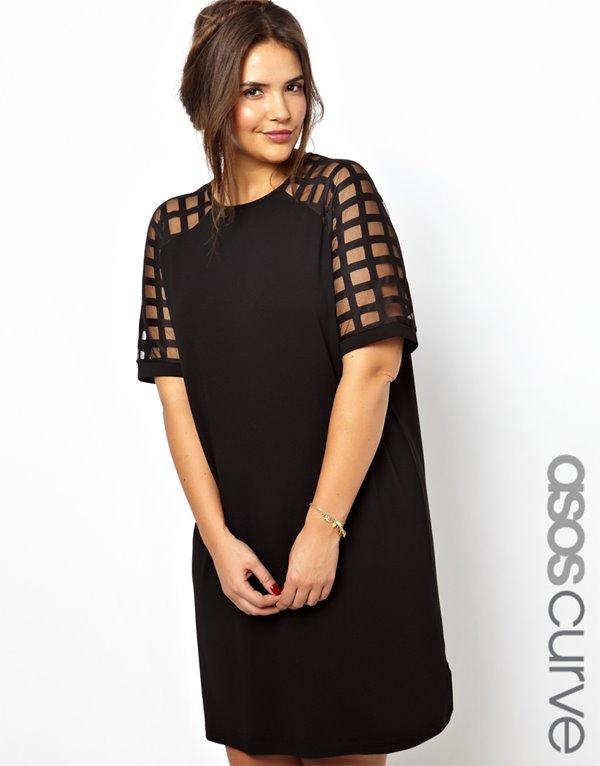 Коктейльные платья для полных 2015-2016 (40)