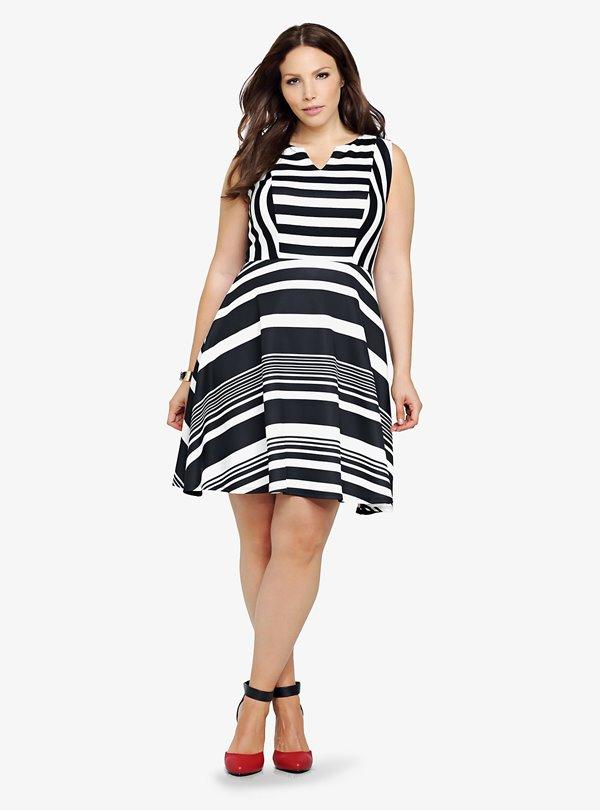 Короткие платья для полных 2015-2016 (1)