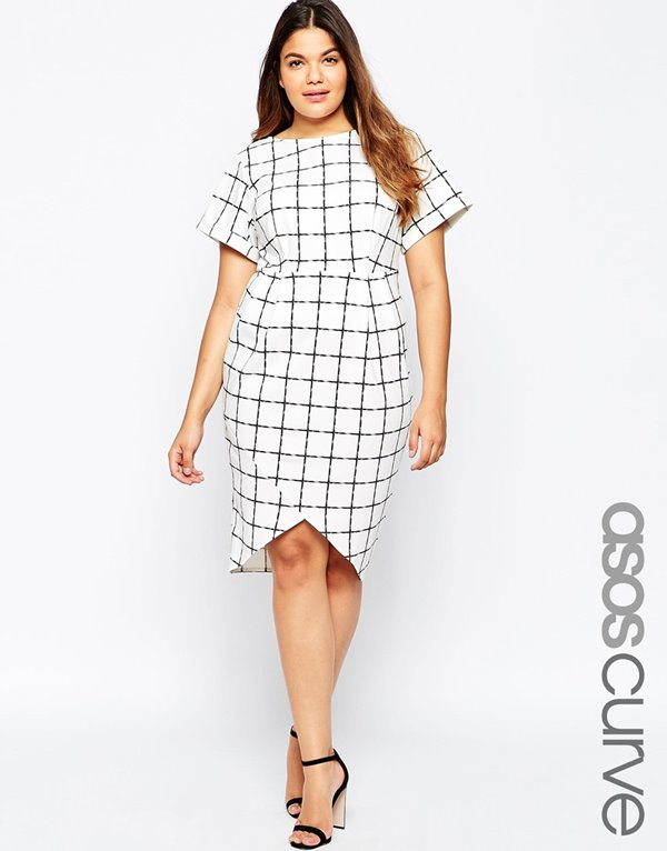 Короткие платья для полных 2015-2016 (21)