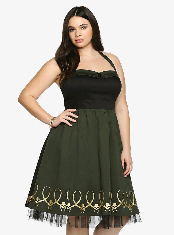 Короткие платья для полных 2015-2016 (3)