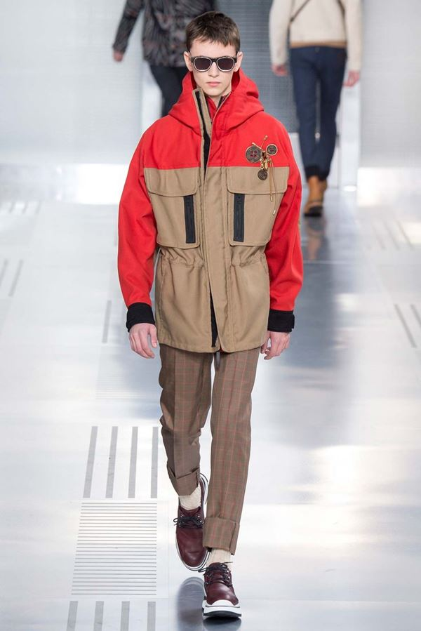 Мужская верхняя одежда 2015-2016 Louis Vuitton