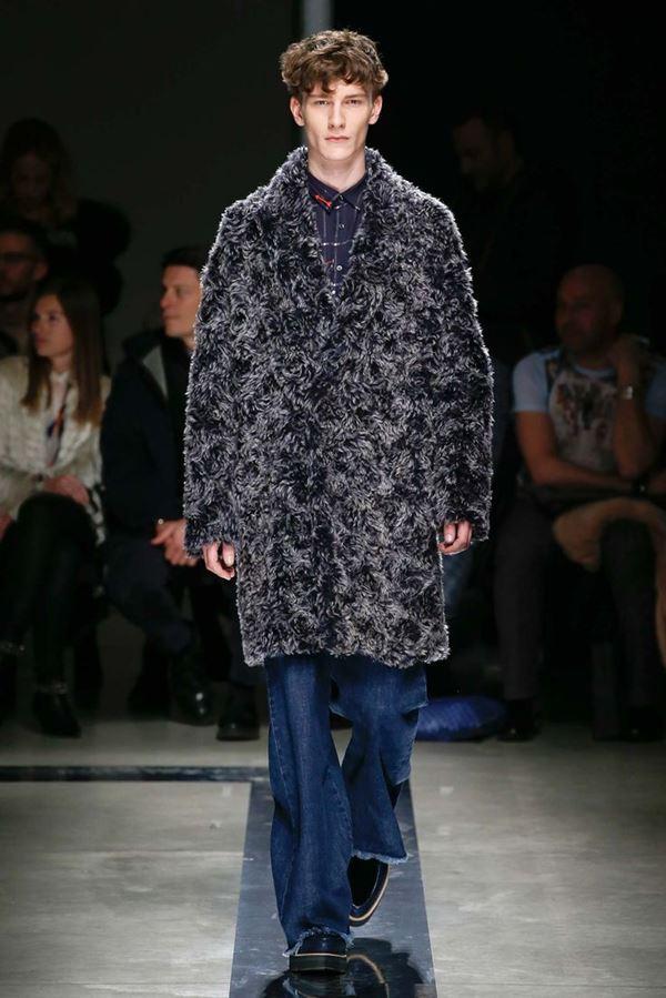 Мужские джинсы осень-зима 2015-2016 MSGM