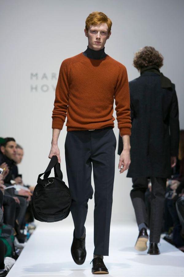 Мужские брюки осень-зима 2015-2016 Margaret Howell