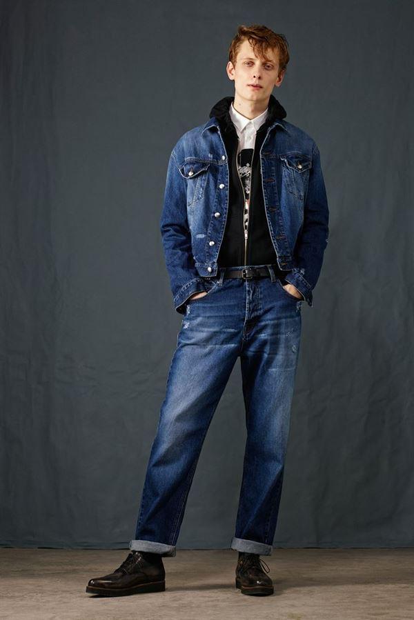Мужские джинсы осень-зима 2015-2016 McQ Alexander McQueen