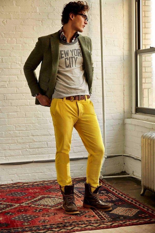 Мужские брюки осень-зима 2015-2016 Michael Bastian