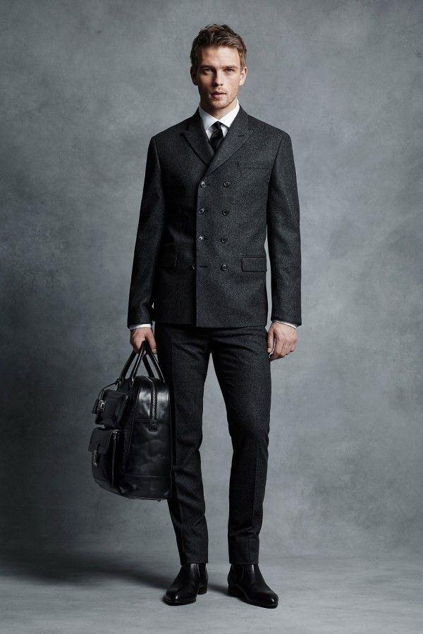 Мужские костюмы осень-зима 2015-2016 Michael Kors