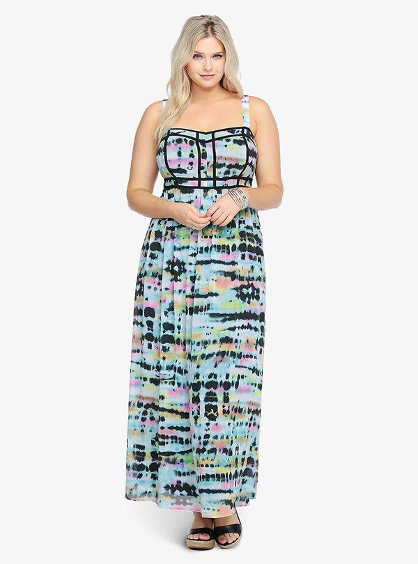Модные длинные платья большого размера 2015-2016 (3)