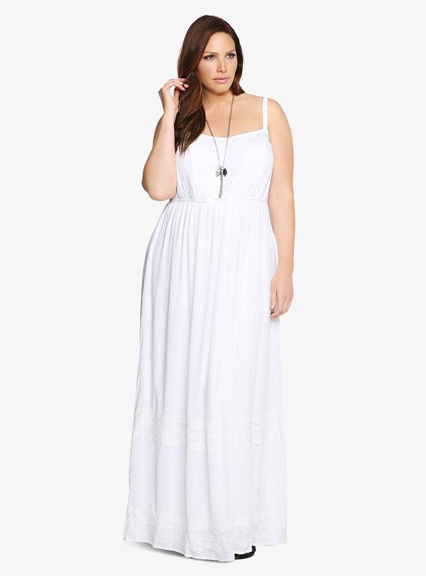 Модные длинные платья большого размера 2015-2016 (6)
