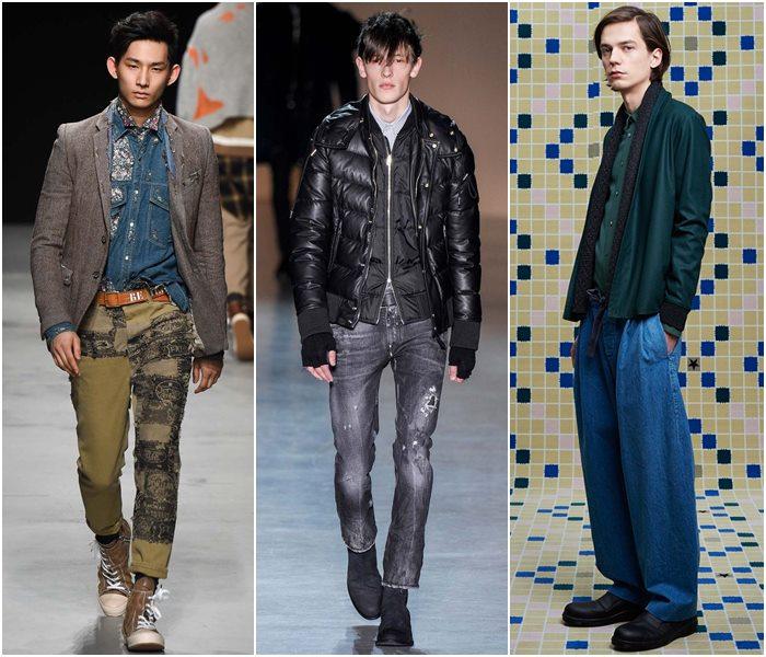 Мужские джинсы осень-зима 2015-2016