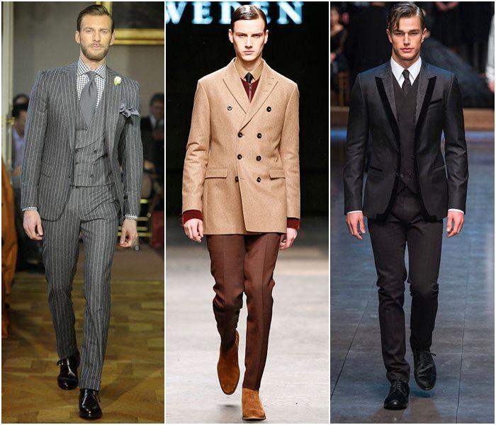 Мужские костюмы осень-зима 2015-2016