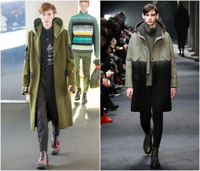 Мужские пальто осень-зима 2015-2016 (10)