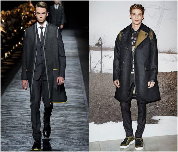 Мужские пальто осень-зима 2015-2016 (12)