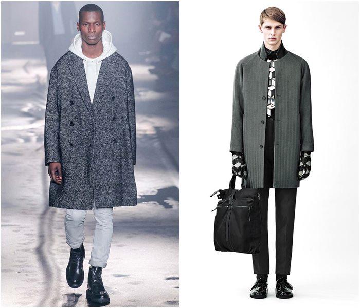 Мужские пальто осень-зима 2015-2016 (13)