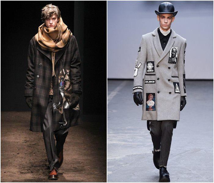 Мужские пальто осень-зима 2015-2016 (15)
