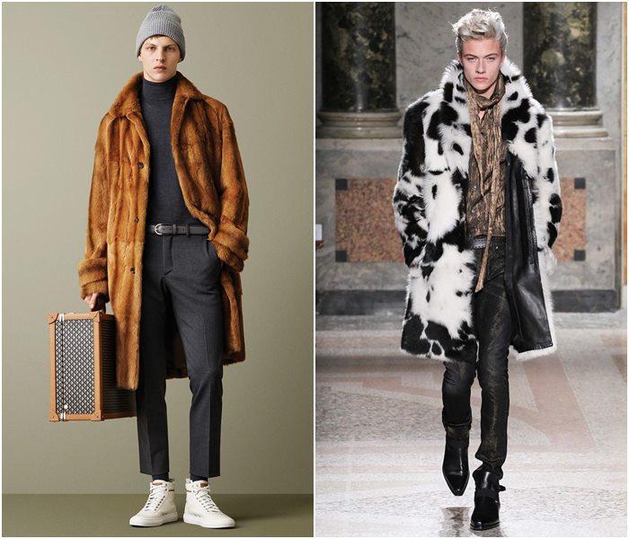Мужские пальто осень-зима 2015-2016 (17)