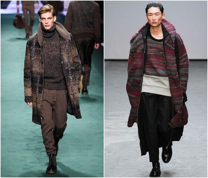 Мужские пальто осень-зима 2015-2016 (9)