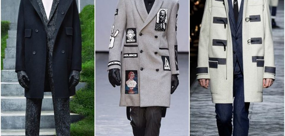 Мужские пальто осень-зима 2015-2016