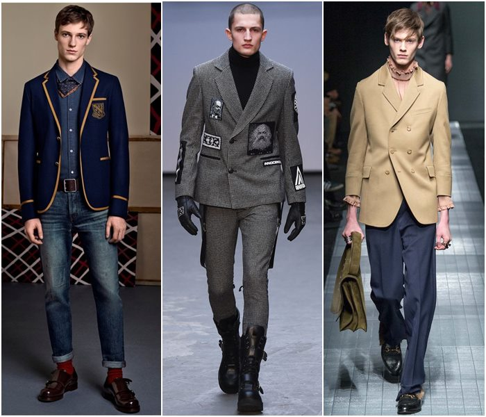 Мужские пиджаки осень-зима 2015-2016