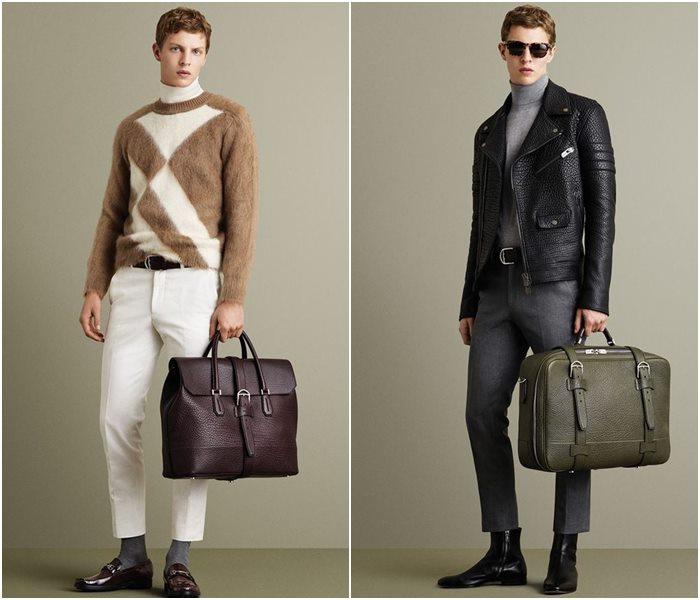 Мужские сумки осень-зима 2015-2016 Bally