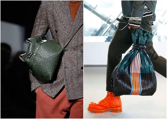 Мужские сумки осень-зима 2015-2016: Bottega Veneta, Kenzo