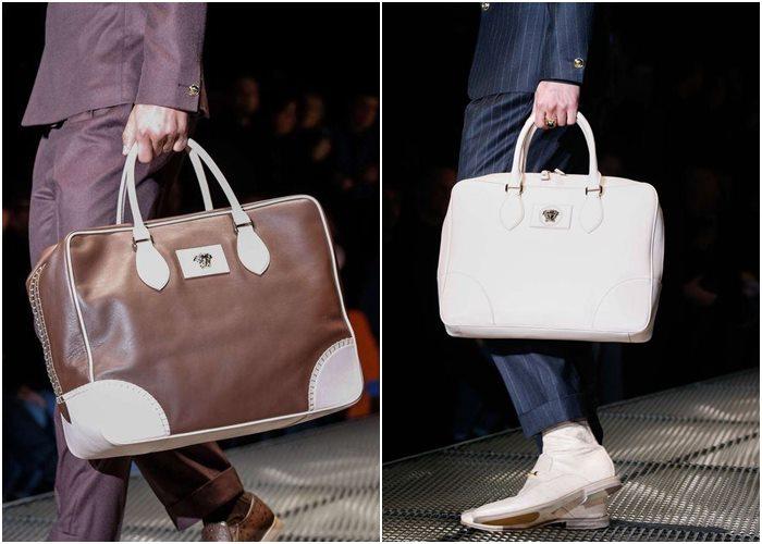 Мужские сумки осень-зима 2015-2016: Versace