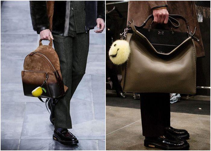 Мужские сумки осень-зима 2015-2016: Fendi