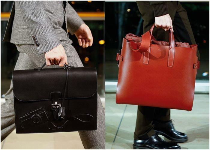 Мужские сумки осень-зима 2015-2016: Hermès