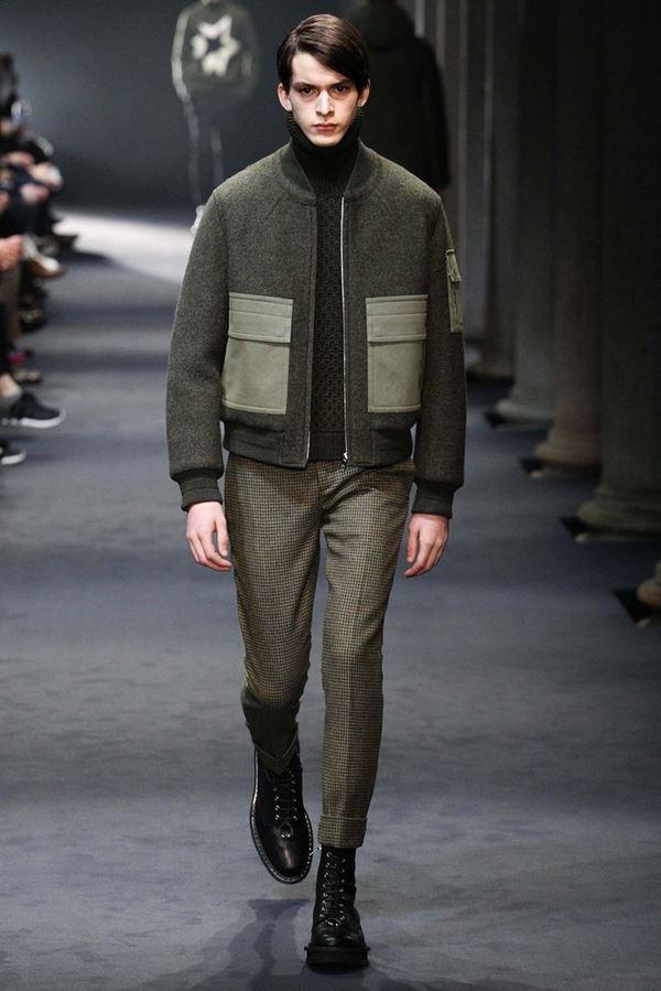 Мужские куртки осень-зима 2015-2016 Neil Barrett