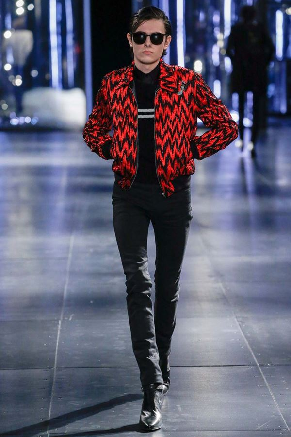 Мужские куртки осень-зима 2015-2016 Saint Laurent