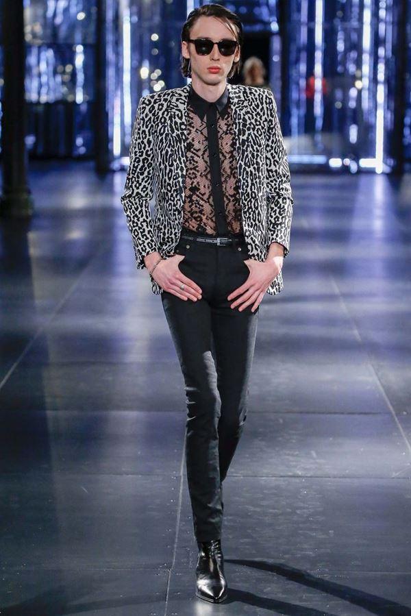 Мужские пиджаки осень-зима 2015-2016 Saint Laurent
