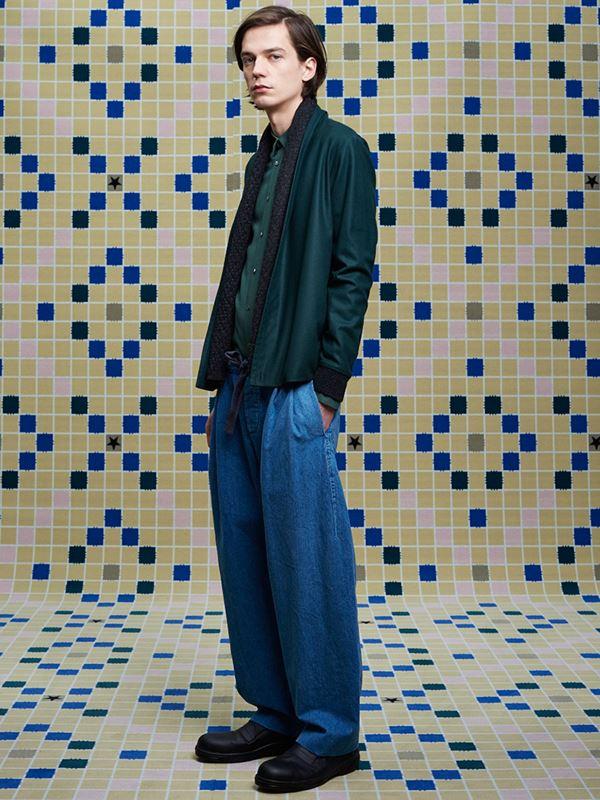 Мужские джинсы осень-зима 2015-2016 Stephan Schneider