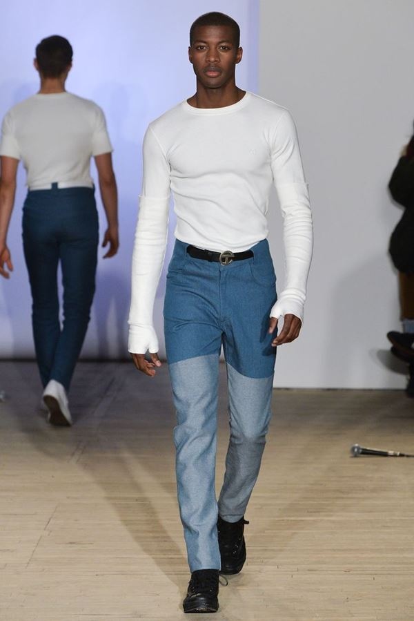 Мужские джинсы осень-зима 2015-2016 Telfar