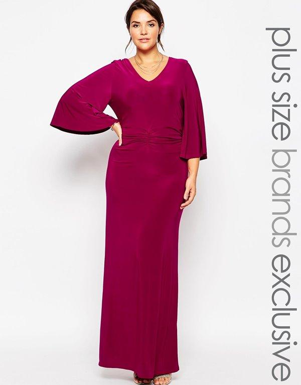 Вечерние платья для полных 2015-2016 (19)