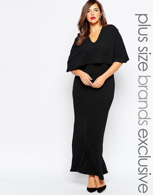 Вечерние платья для полных 2015-2016 (6)